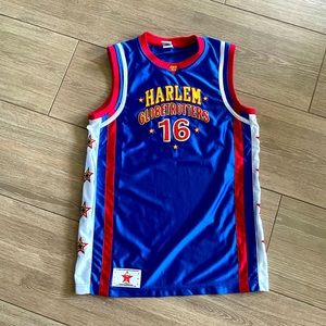 Harlem Globetrotters Signed Youth Small Jersey